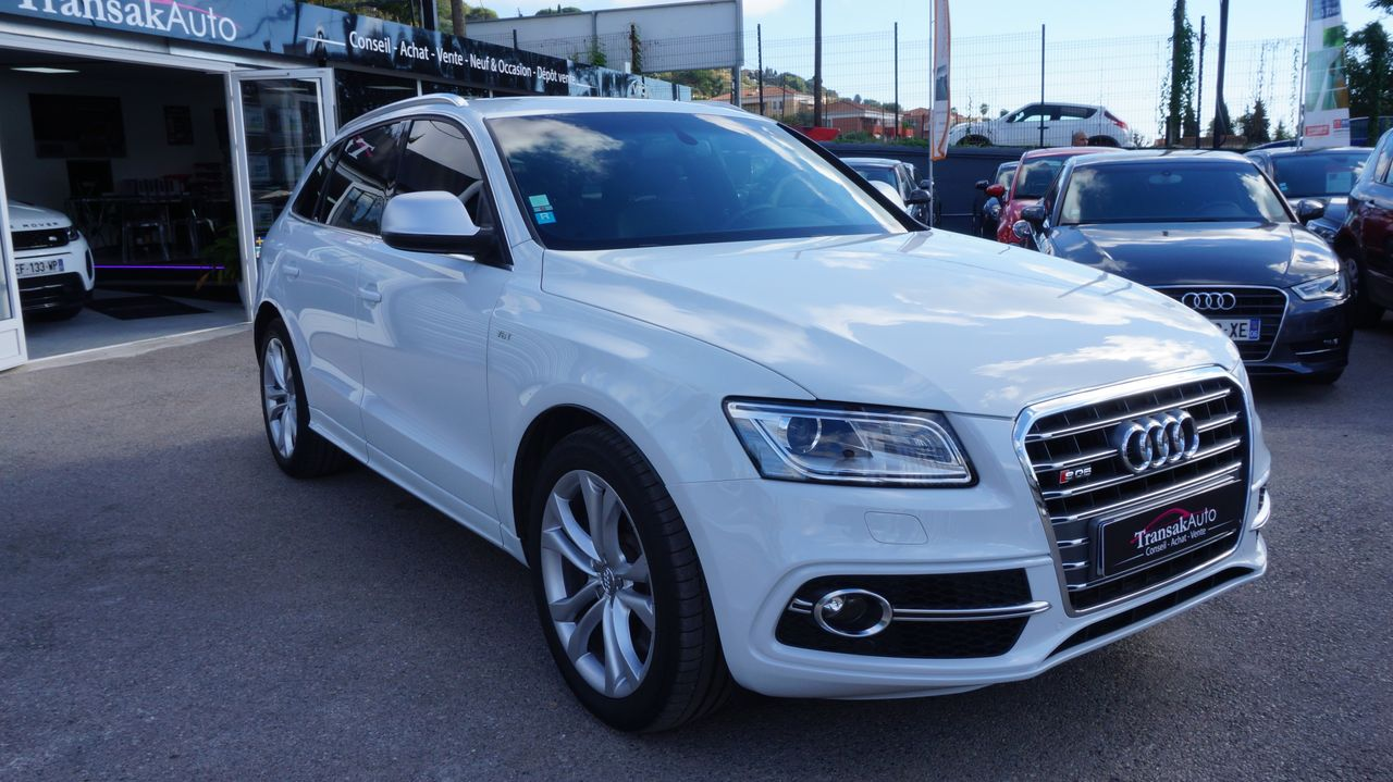 voiture audi sq5 v6 3 0 bitdi 313 quattro tiptronic 8 occasion diesel 2013 47000 km. Black Bedroom Furniture Sets. Home Design Ideas