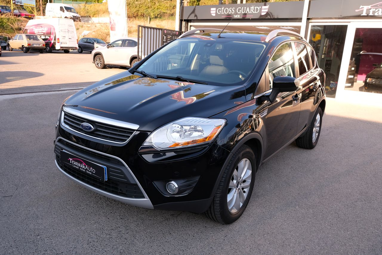 voiture ford kuga 2 0 tdci 136 dpf 4x2 titanium occasion. Black Bedroom Furniture Sets. Home Design Ideas