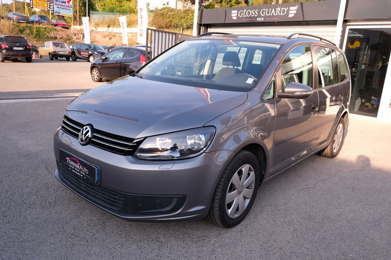 voiture volkswagen touran 1 2 tsi 105 trendline occasion essence 2010 72600 km 14490. Black Bedroom Furniture Sets. Home Design Ideas