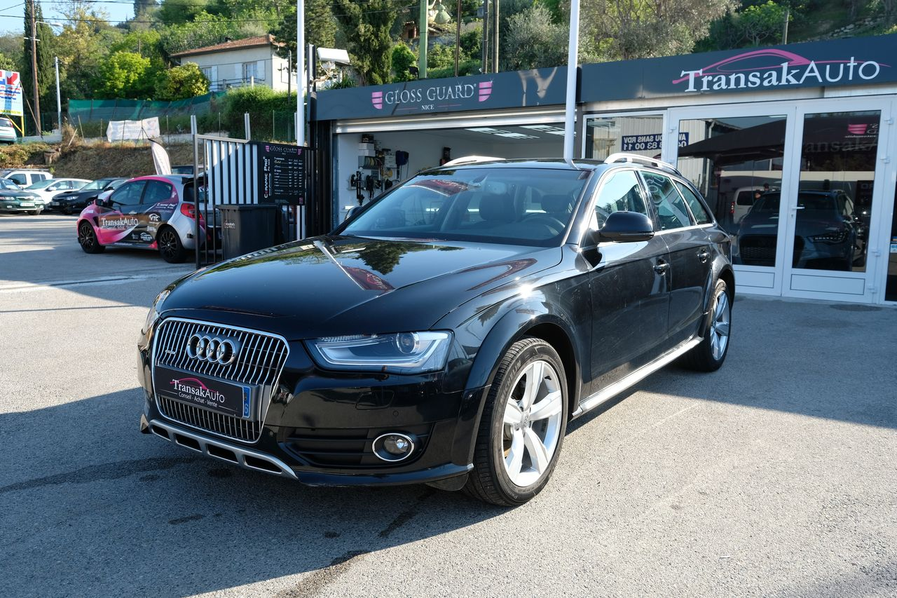 voiture audi a4 allroad quattro 2 0 tdi 177 dpf ambition luxe s tronic occasion diesel 2013. Black Bedroom Furniture Sets. Home Design Ideas