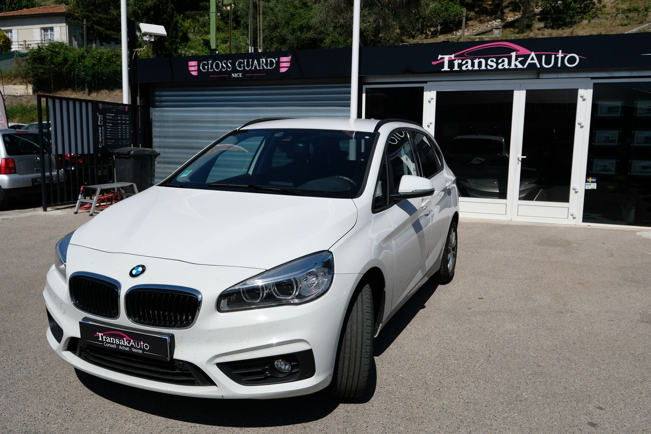 voiture bmw active tourer 218d 150 ch luxury a occasion diesel 2016 23000 km 29990. Black Bedroom Furniture Sets. Home Design Ideas