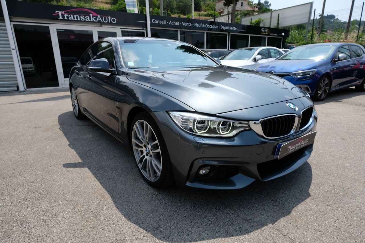 voiture bmw gran coup 430d 258 ch m sport a occasion diesel 2015 19000 km 38990. Black Bedroom Furniture Sets. Home Design Ideas