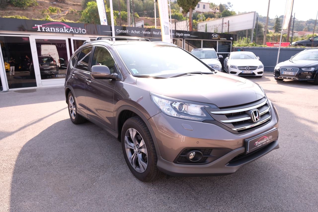 voiture honda cr v 2 2 i dtec 4wd exclusive navi occasion diesel 2014 38000 km 24490. Black Bedroom Furniture Sets. Home Design Ideas