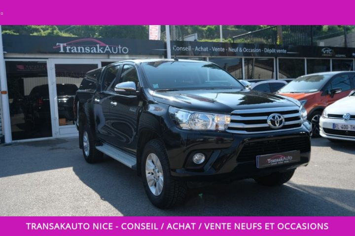 TOYOTA HILUX DOUBLE CABINE